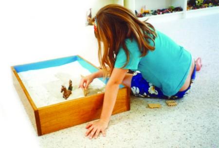 Terapia en sandplay